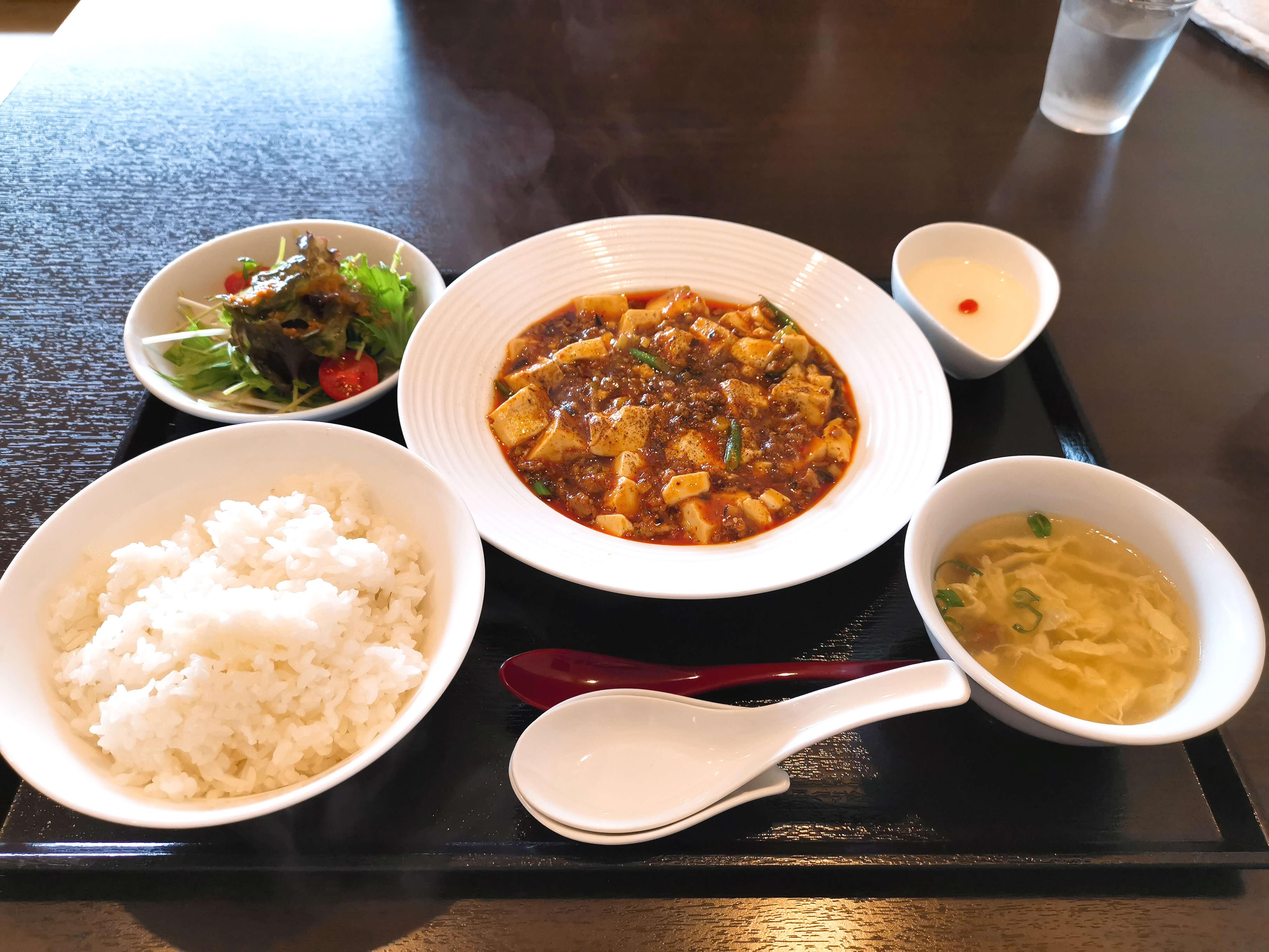 四川麻婆豆腐セット900円