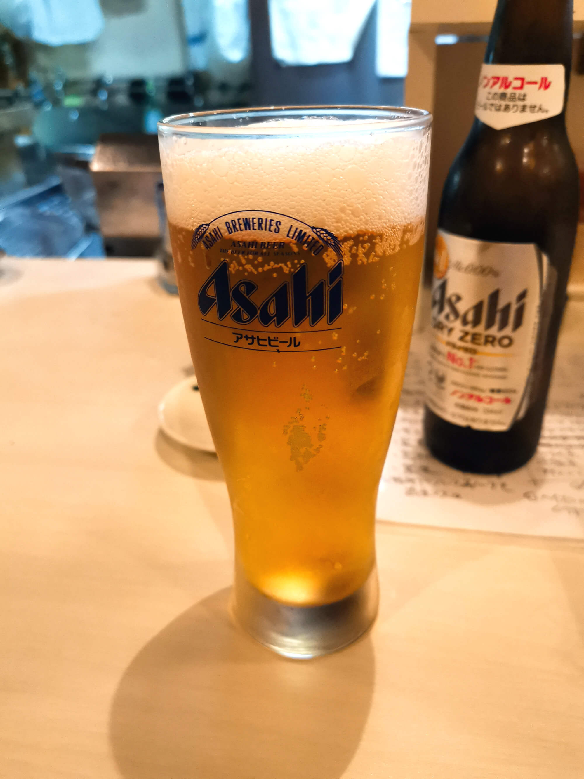 ノンアルコールビール450円