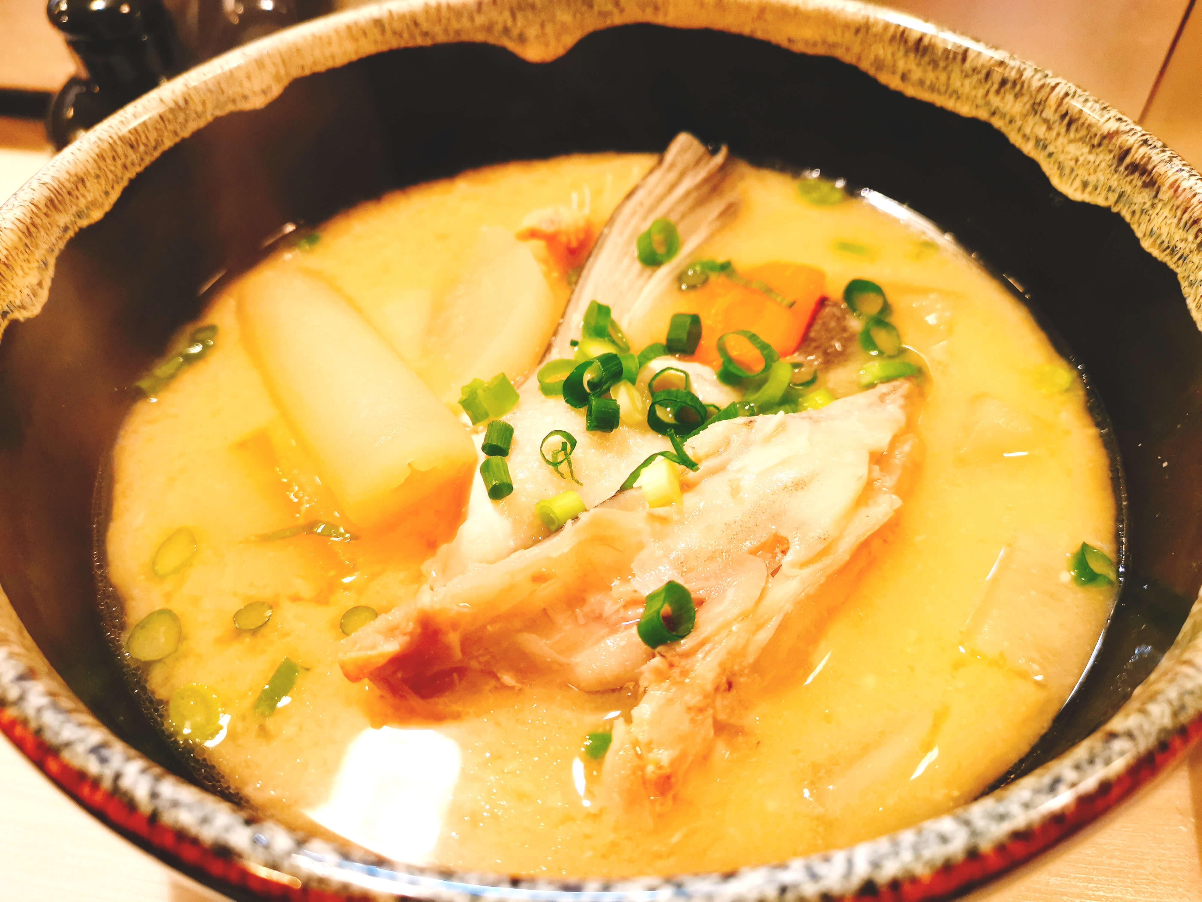 鮭粕汁380円