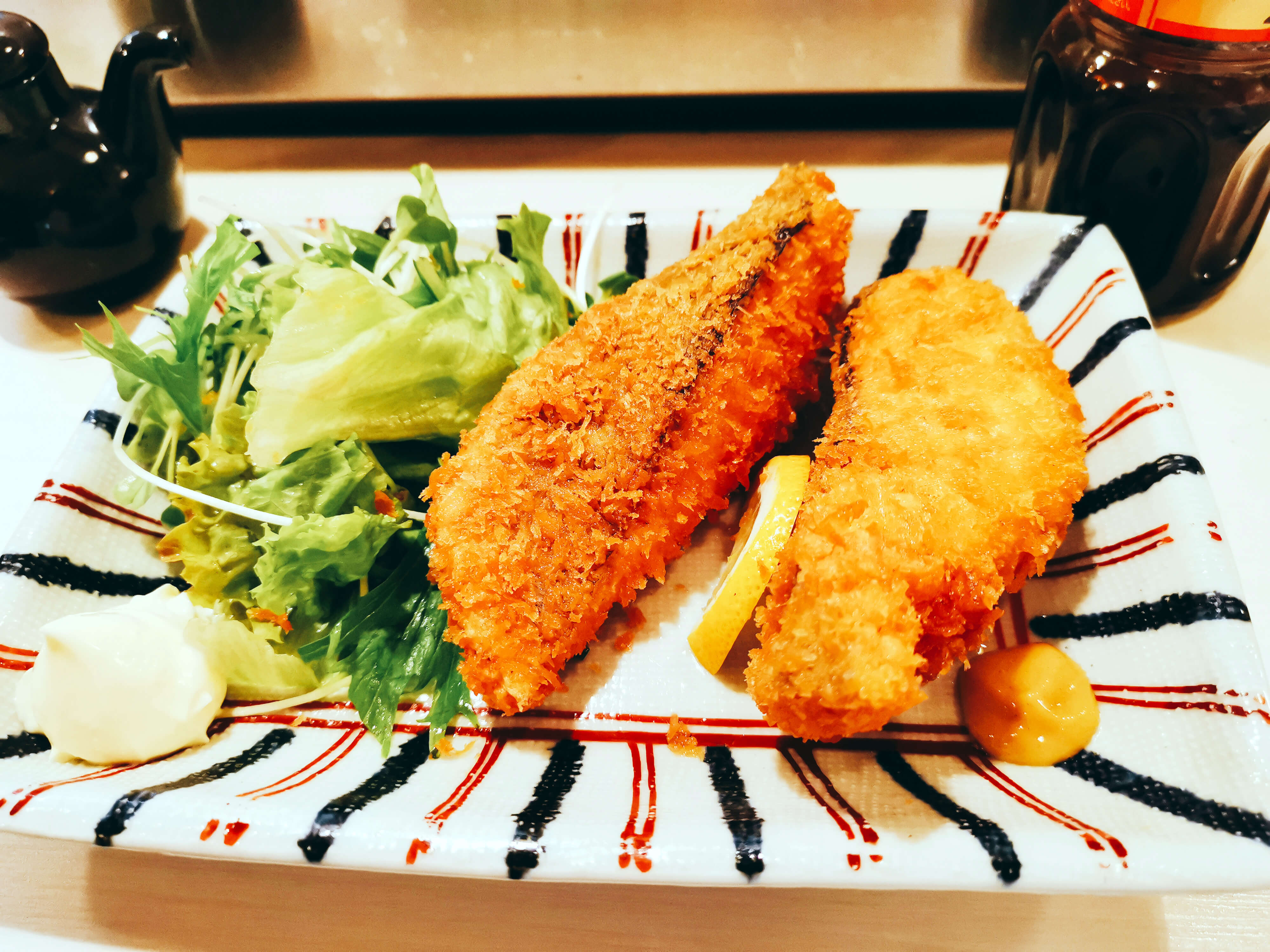 鮭フライ480円