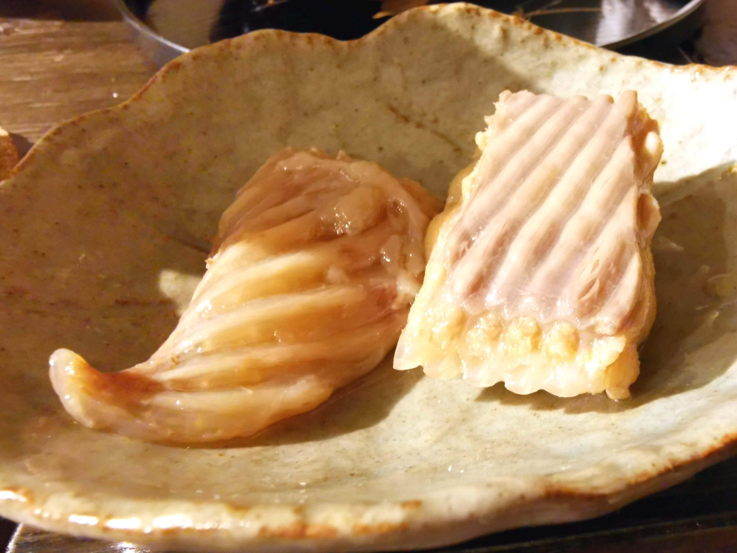 カスベの煮物
