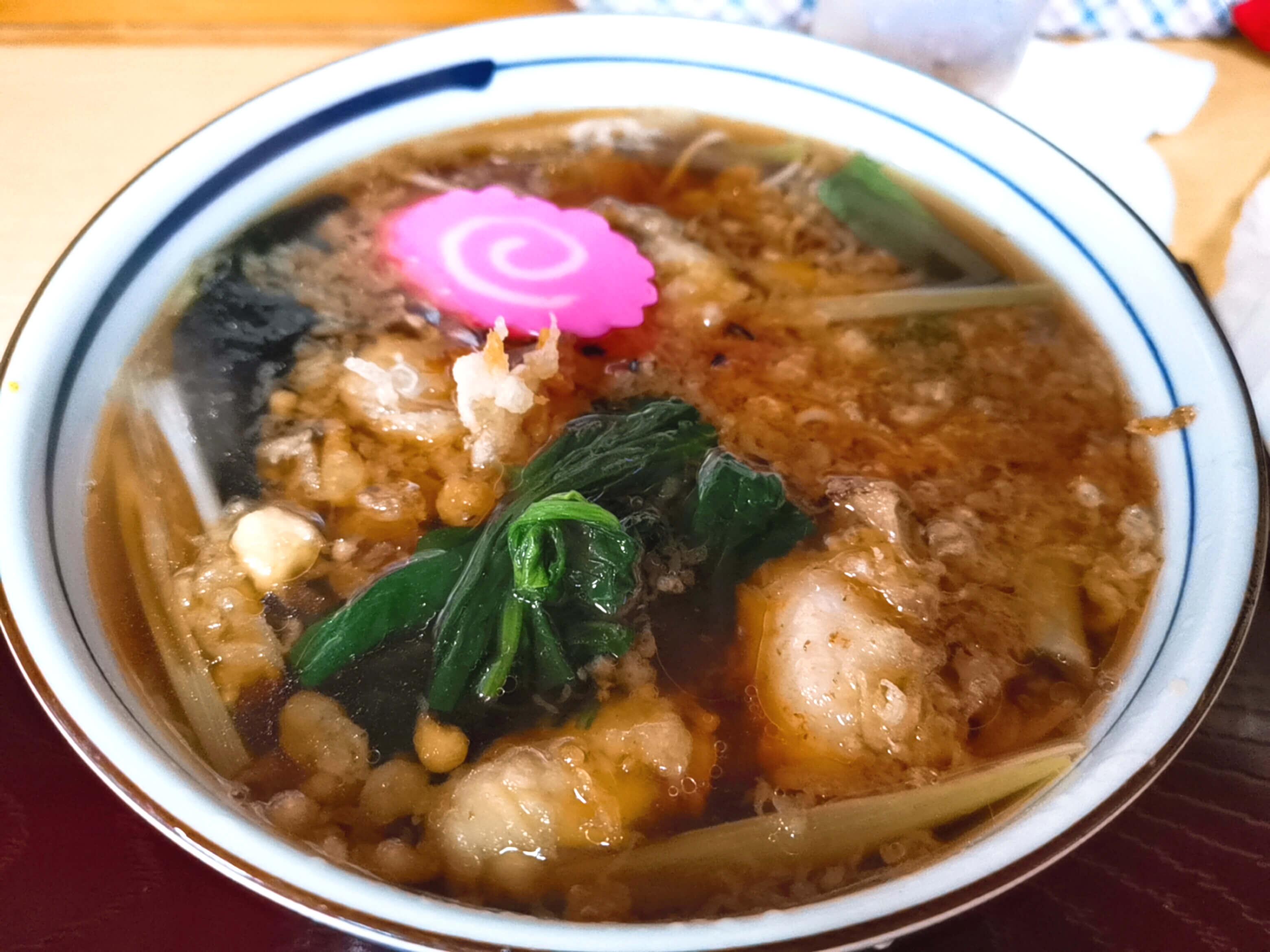 牡蠣蕎麦1200円
