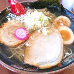 釧路ラーメン塩味750円