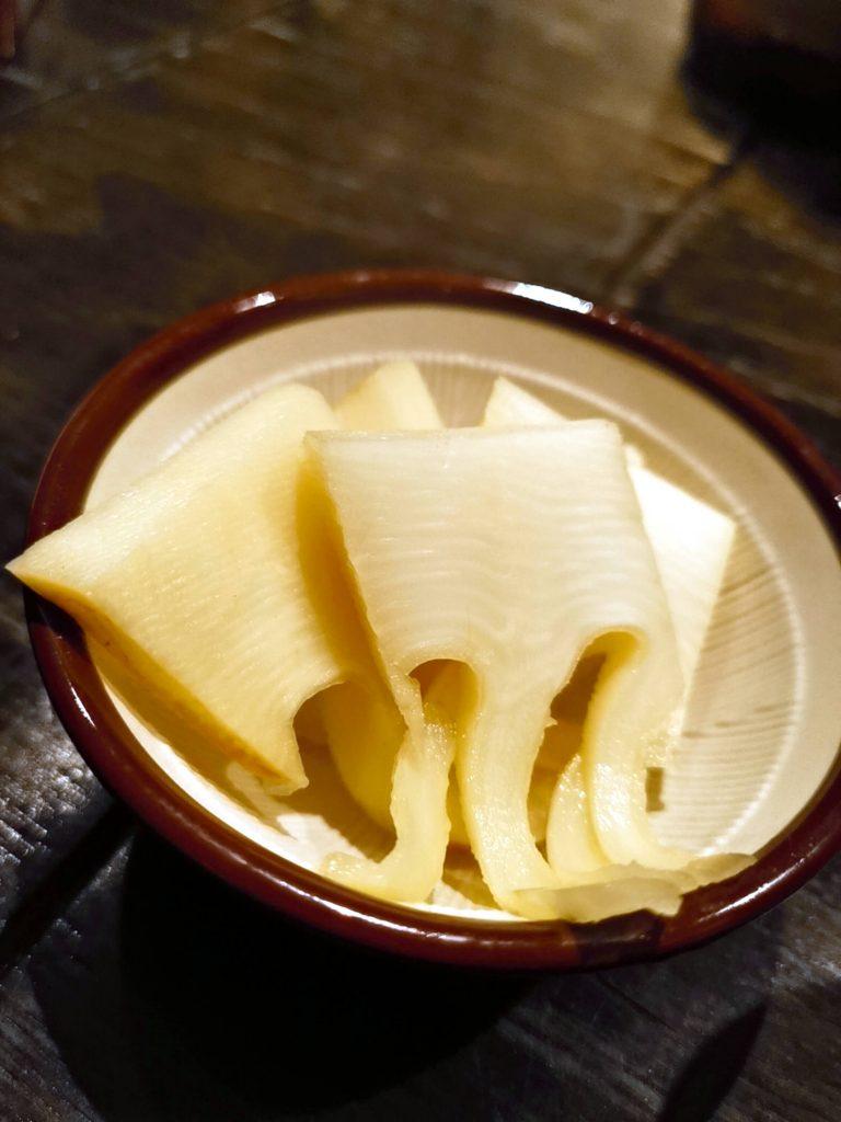 採れたて竹の子煮物