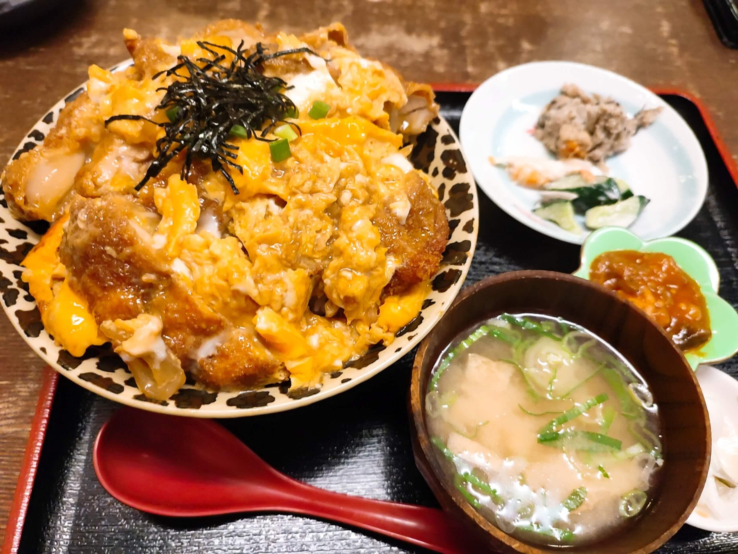 特盛チキンカツ丼1100円
